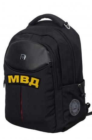 Черный повседневный рюкзак МВД - заказать выгодно