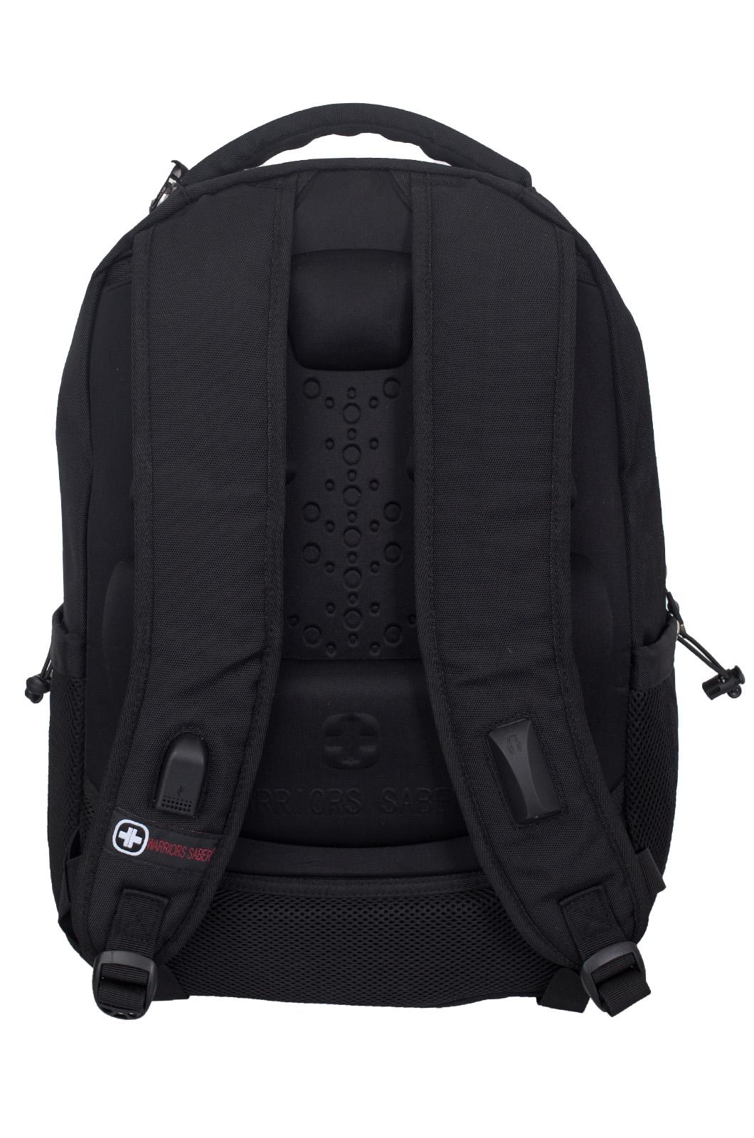 Черный повседневный рюкзак МВД - купить онлайн