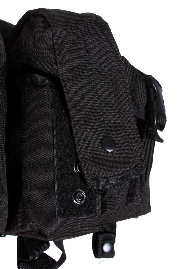 Черный разгрузочный жилет