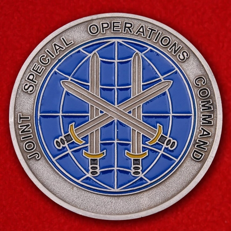 Combined Joint Special Operations Task Force Afghanistan Challenge Coin