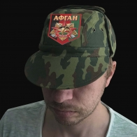 Демисезонная мужская кепка Афган
