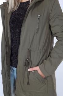 Демисезонная куртка-парка от Just Jeans (Австралия) с удобными карманами