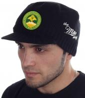 Демисезонная шапка с козырьком от бренда Miller Way