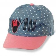 Эффектная детская кепка в горошек с прямым козырьком – уличный стиль с ноткой аристократизма для юной леди