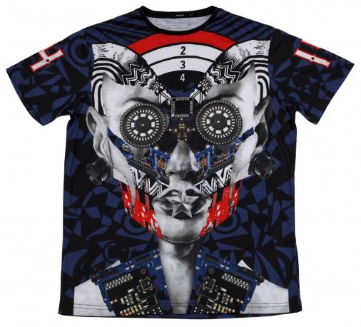 Дизайнерская футболка Splash. Эксклюзивная модель по доступной цене