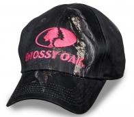 Дизайнерская камуфлированная кепка бренда Mossy Оak