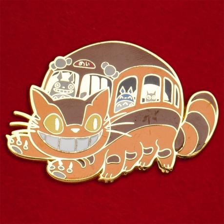"""Дизайнерский значок """"Котбус и Тоторо"""" от Nayuki Draws"""