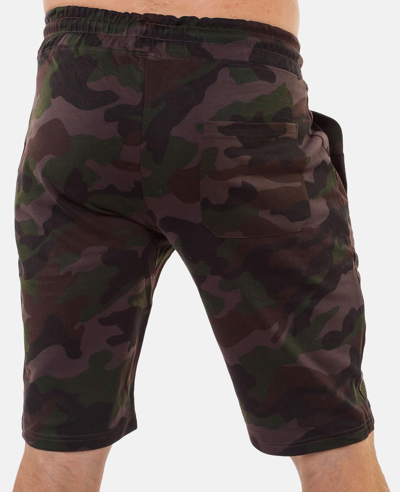 Купить длинные мужские шорты с карманами