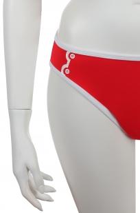 ДЛЯ ЖАРКОГО ЛЕТА! Топовый ярко-красный купальник от Olympia для самых зажигательных! - плавки
