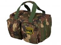 Дорожная военная сумка с нашивкой Танковые Войска