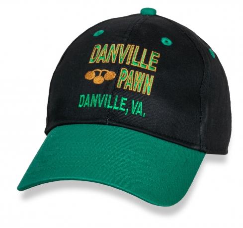 Двухцветная трендовая бейсболка Danville