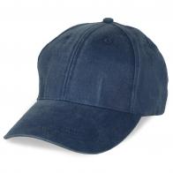 Джинсовая кепка под принт модных надписей