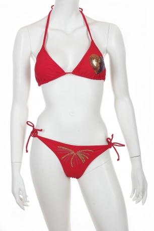 Эффектный красный купальник Lascana.