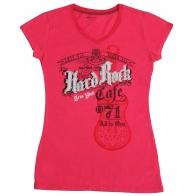Эксклюзивная женская футболка от бренда Hard Rock®
