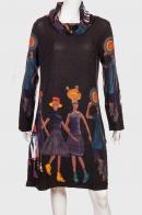 Элегантное платье в этническом стиле