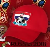 Фанатская бейсболка Хорватия