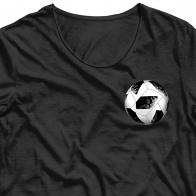 Фанатская аппликация термонаклейка мяч