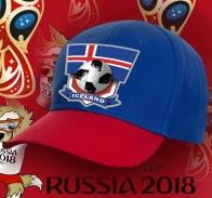 Фанатская топовая бейсболка Исландия