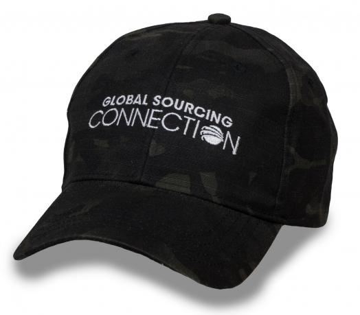 Фирменная бейсболка Global Sourcing Connection