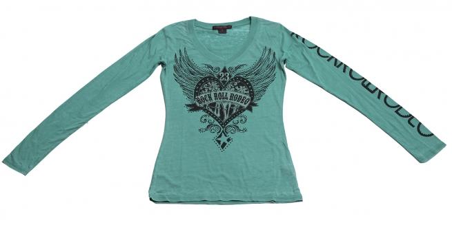 """Фирменная кофточка Rock&Roll CowGirl - дизайнерская модель """"Сердце с крыльями"""""""