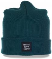 Фирменная шапка Herschel для современных модниц. Удобный головной убор, в котором 100% тепло