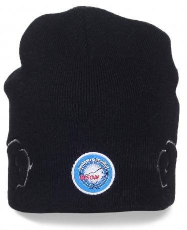Фирменная шапка хоккейного клуба Bison. Заказывайте, поклонники оценят!