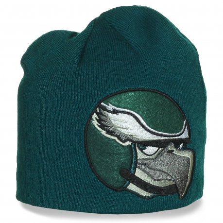 Фирменная шапка Philadelphia Eagles. Заказывайте, спортсменам и любителям американского футбола понравится!