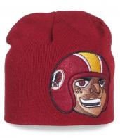 Фирменная шапка Washington Redskins - любители американского футбола, налетай!