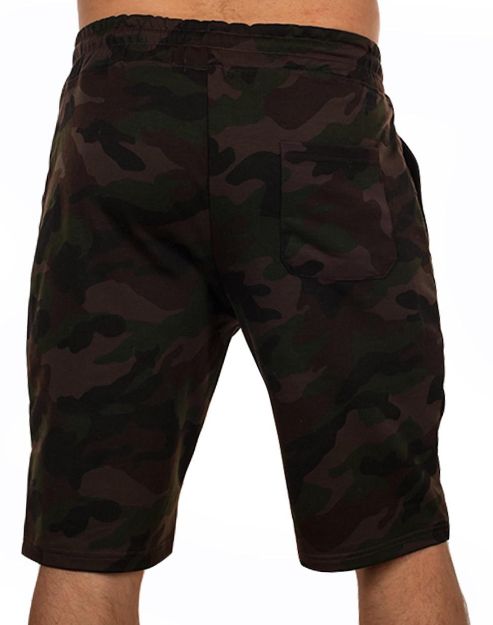 Мужские шорты ВДВ – натуральный хлопок, камуфляжная расцветка