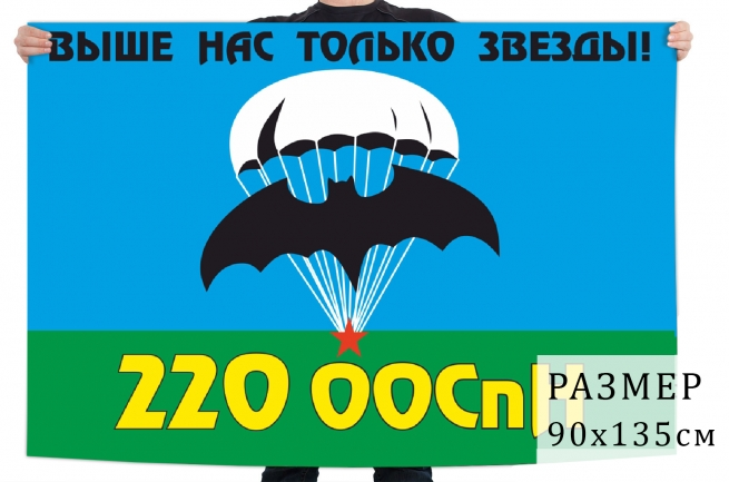 Флаг 220 Отдельного отряда СпН ГРУ