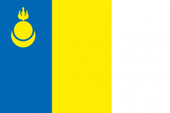 Флаг Агинского Бурятского округа