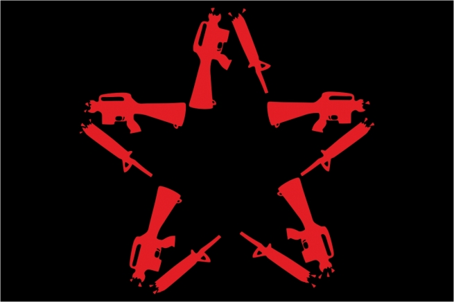 Флаг Anti-Flag