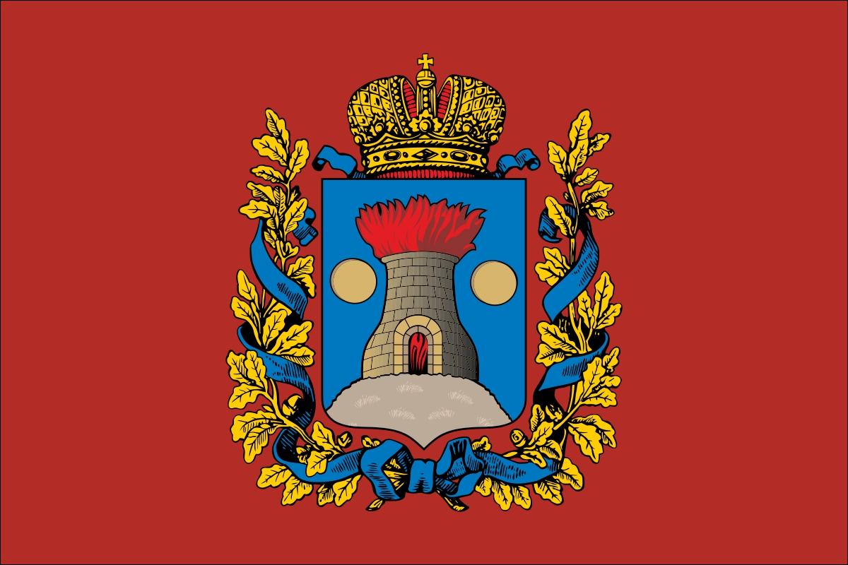 Флаг Келецкой губернии