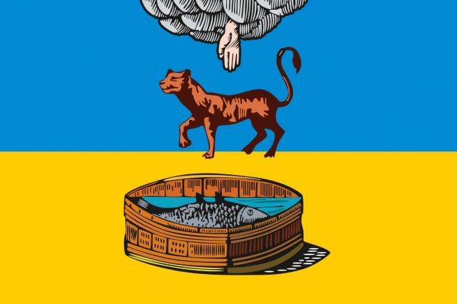Флаг Луги