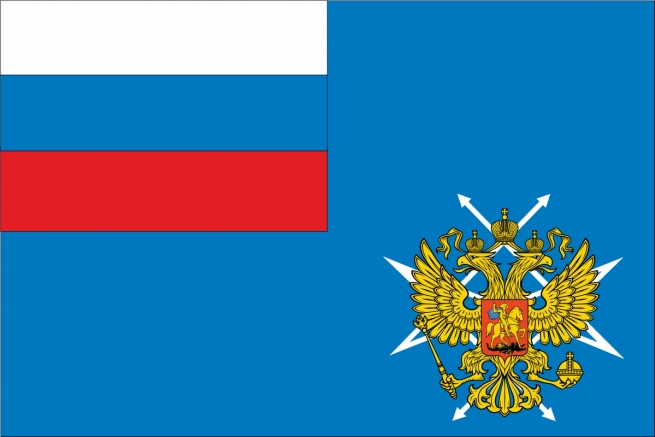 Флаг Министерства связи и массовых коммуникаций РФ
