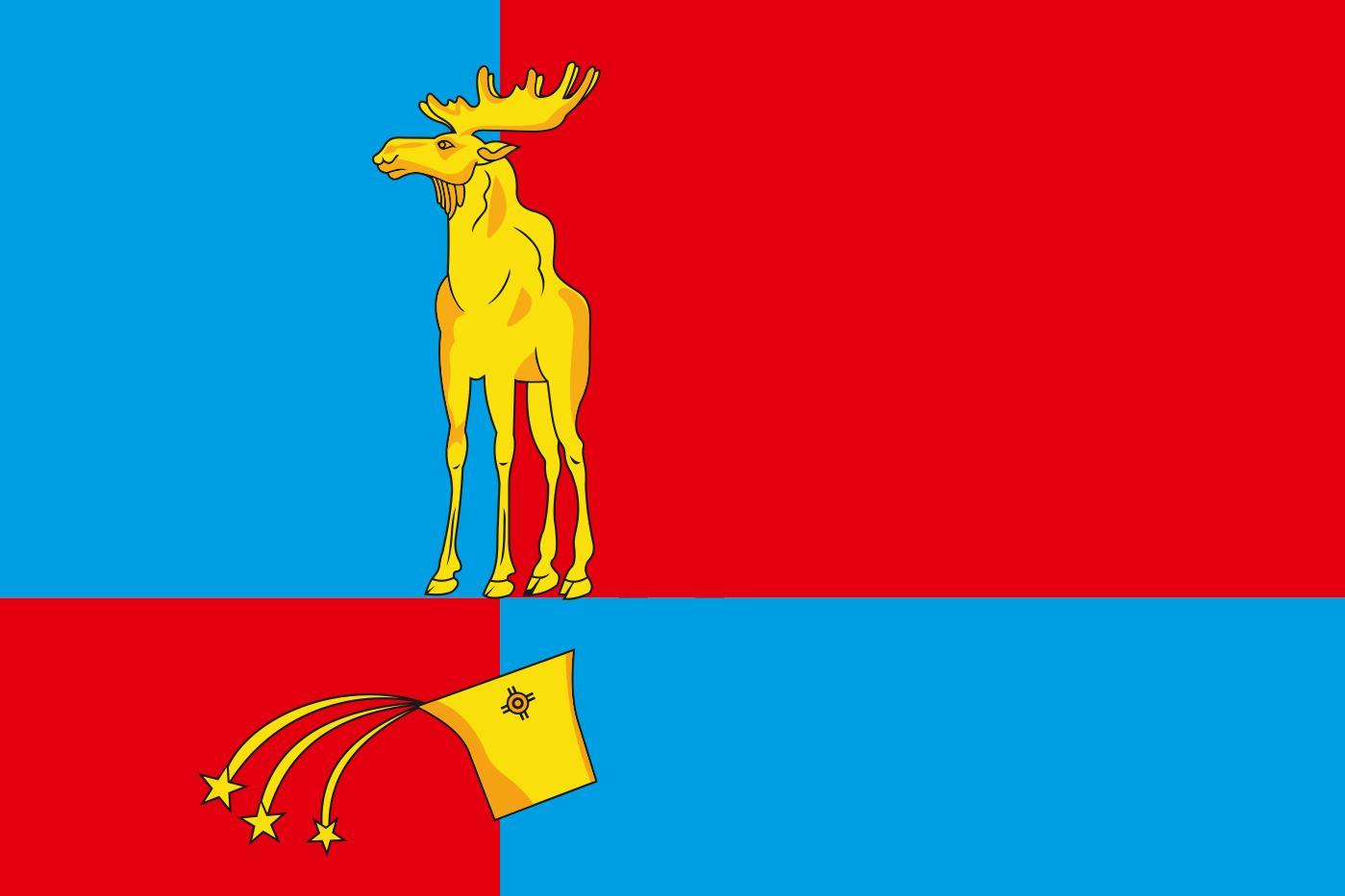 Флаг Мончегорска