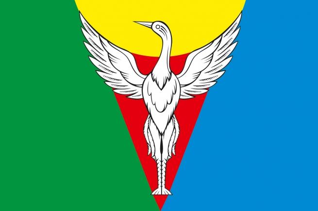 Флаг Октябрьского района