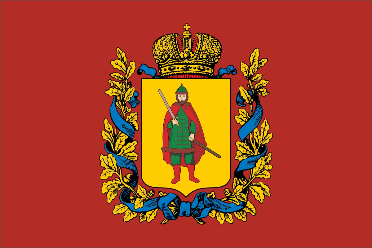 Флаг Рязанской губернии