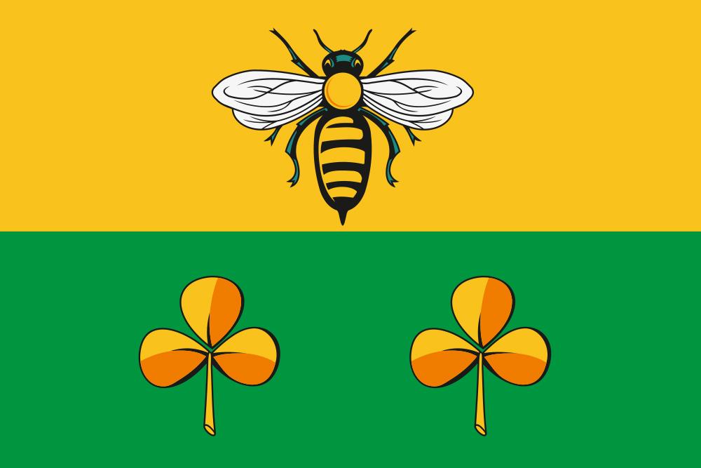 Флаг Сандовского района