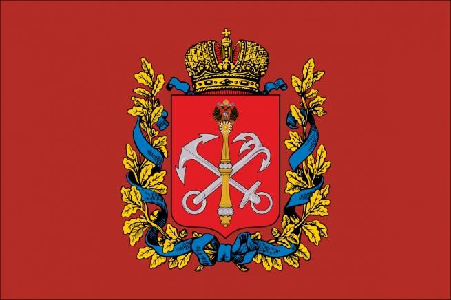 Флаг Санкт-Петербургской губернии