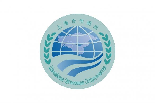Флаг Шанхайской организации сотрудничества
