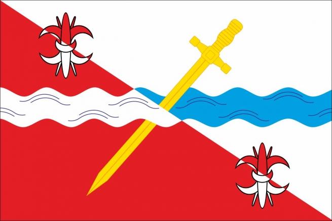 Флаг Советского района Ставропольского края