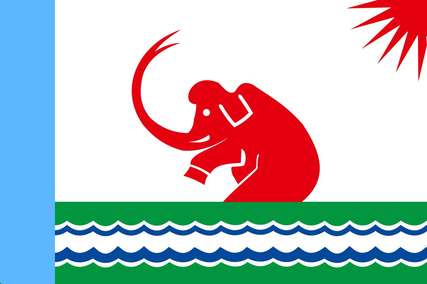 Флаг Среднеколымска