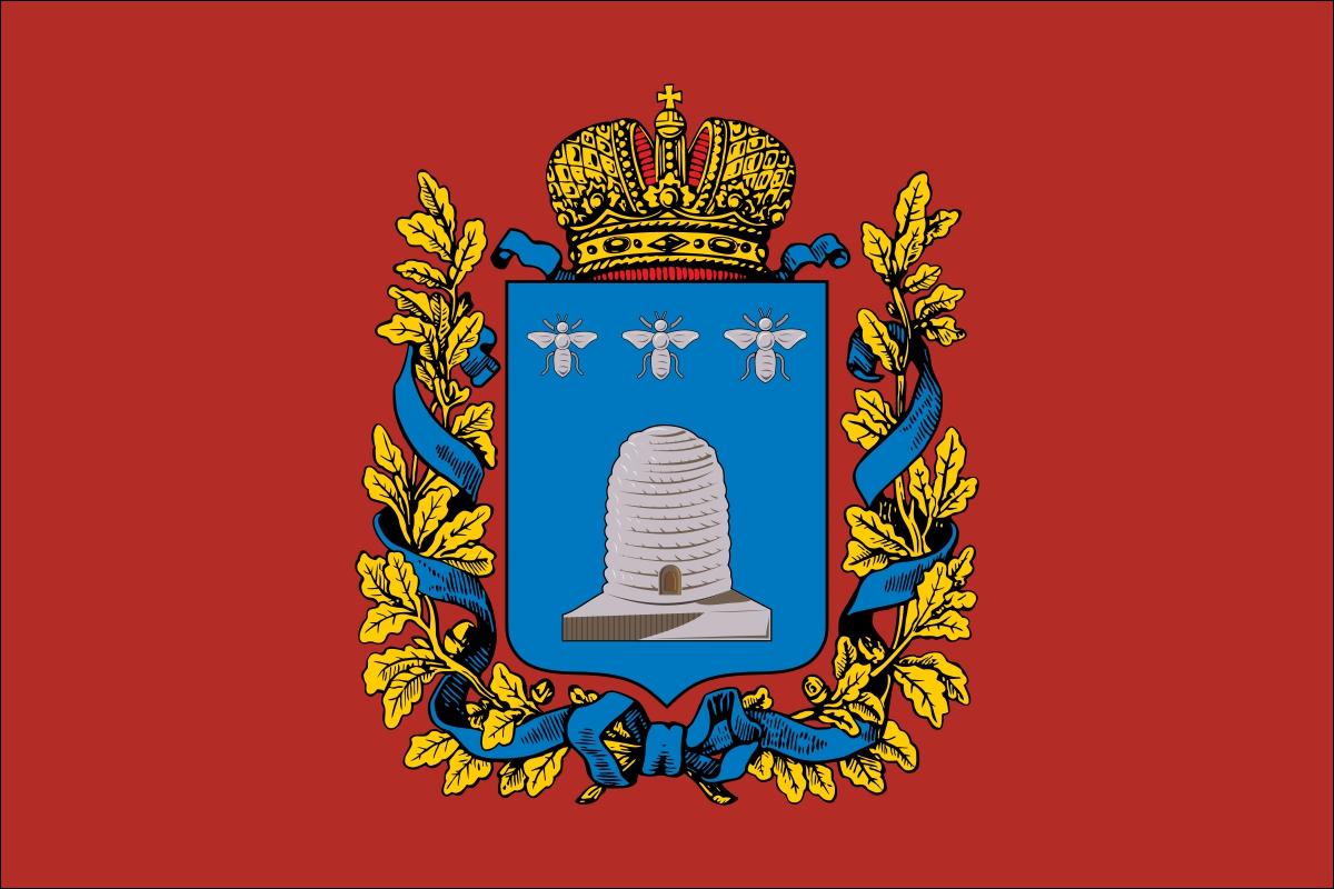 Флаг Тамбовской губернии