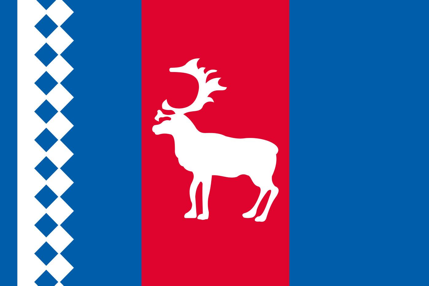 Флаг Тазовского района