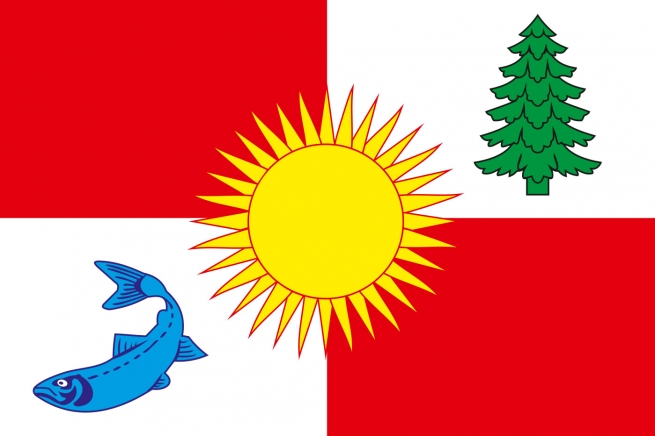 Флаг Томаринского района