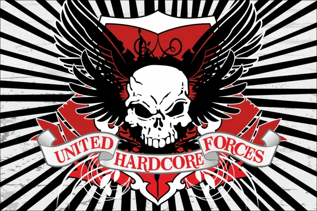 Флаг United Hardcore Forces