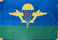 Флаг ВДВ СССР (на сетке)