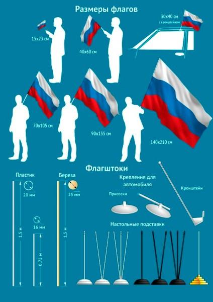 Флаг «Военно-космические войска»