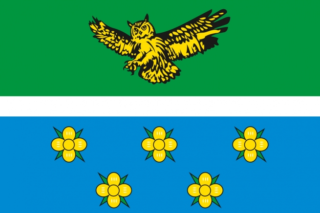 Флаг Жарковского района